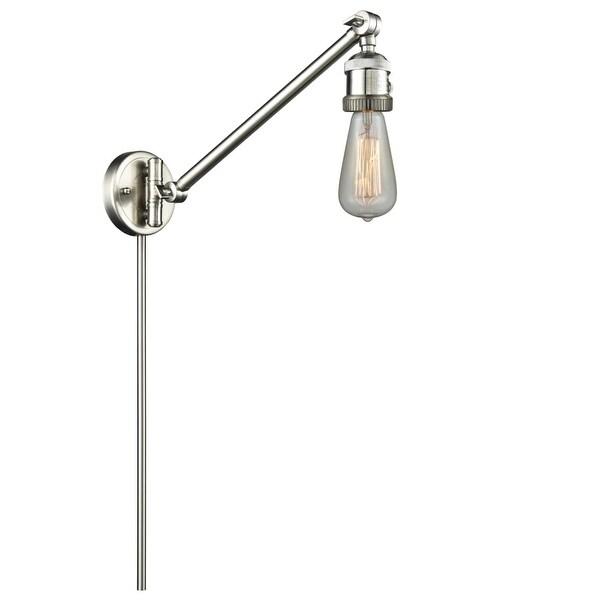 Innovations Lighting 237 Bare Bulb Single Light 25 Tall Wall Sconce