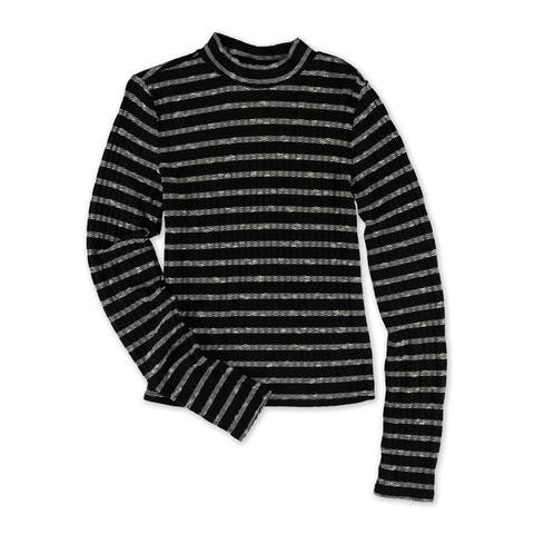 Aeropostale Womens Knit Striped Pullover Sweater