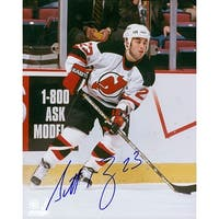 Signed Gomez Scott New Jersey Devils 8x10 Photo autographed