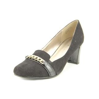 Karen Scott Penni Women Square Toe Synthetic Black Heels