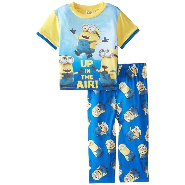 f064ba89f95d Shop Illumination Entertainment Boys 2T-4T Despicable Me Minion Pajama Set  - Free Shipping On Orders Over  45 - Overstock - 18768089