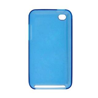 Plastic Skin Back Shell Phone Case Blue for iPod Touch 4G