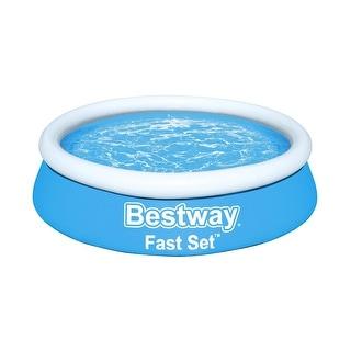 "Bestway Fast Set 6' x 20"" Round Inflatable Pool"