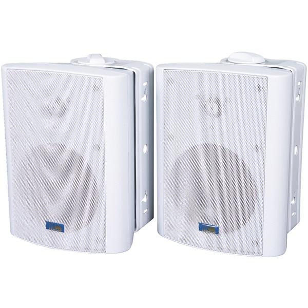 Tic Corporation Asp60W Indoor/Outdoor 75-Watt Speakers With 70-Volt Switching (White)