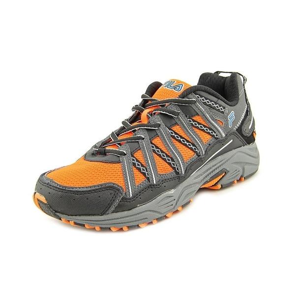 Fila Headway 4 Men Round Toe Synthetic Orange Hiking Shoe