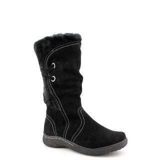 Wanderlust Norway Women W Round Toe Leather Mid Calf Boot