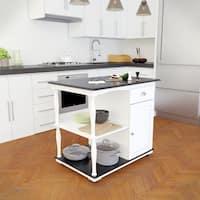 Buy Black Kitchen Islands Online At Overstock Our Best Furniture Deals
