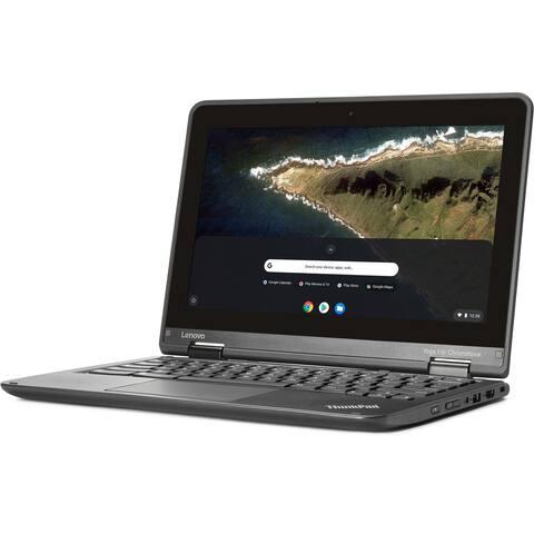 "Lenovo ThinkPad 11E Chromebook Intel Celeron N2940 X4 1.83GHz 4GB 16GB SSD 11.6"", Black"