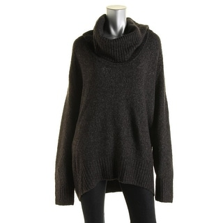 Michael Kors Womens Plus Knit Turtleneck Pullover Sweater