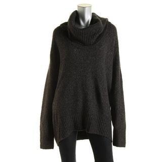 Michael Kors Womens Plus Knit Turtleneck Pullover Sweater
