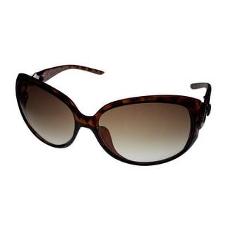 Kenneth Cole Reaction Womens Plastic Tortoise Sunglass, Gradient Lens KC1169 52F - Medium
