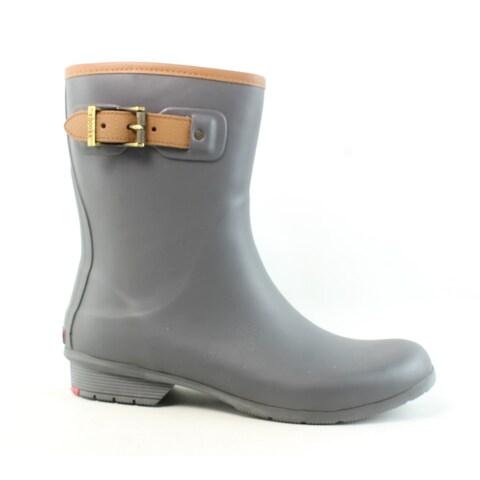 Chooka Womens Charcoal Rainboots Size 10