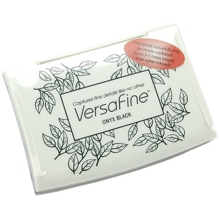 Versafine Pigment Ink Pad-Onyx Black