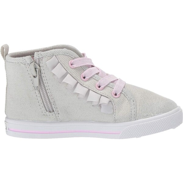 OshKosh BGosh Kids Tazanna Girls Ruffle High-top Sneaker