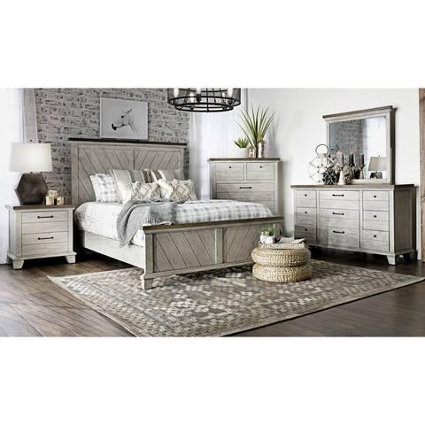 The Gray Barn Overlook Rustic 4-piece Bedroom Set