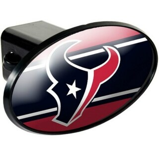 Great American Products Houston Texans Oval Trailer Hitch Cover Oval Trailer Hitch Cover