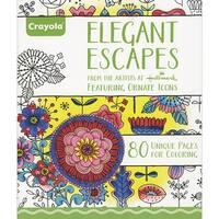 """Crayola Hallmark Artist Designs Coloring Book 8""""X10"""""""