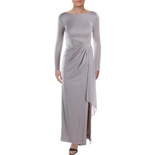 Link to Vince Camuto Womens Evening Dress Metallic Ruched - Blush Similar Items in Dresses
