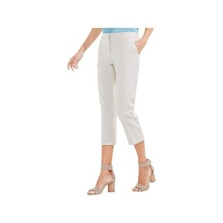 Vince Camuto Womens Capri Pants Flat Front Cropped - 10