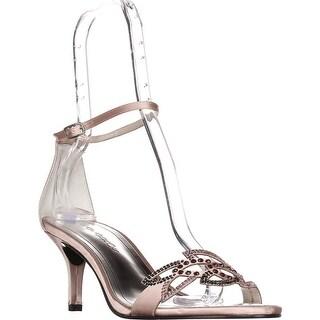 Caparros Cabaret Ankle Strap Evening Sandals, Clay