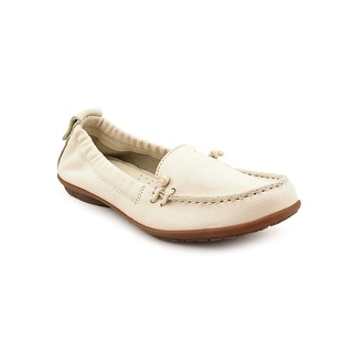 Hush Puppies Ceil Slip On_MT WW Moc Toe Leather Loafer