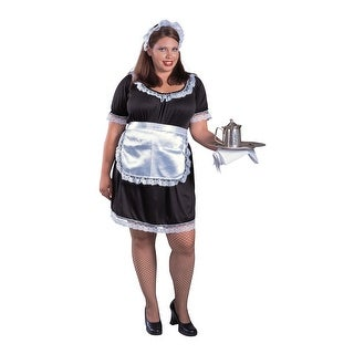 Women's Plus Size French Maid Costume