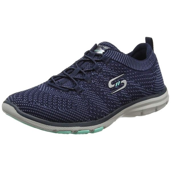 Shop Skechers Galaxies Womens Slip On Sneakers Navy Blue 6.5 - Free ... ee7efeefd62a