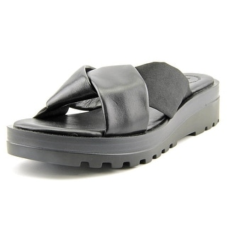 French Connection Calida Open Toe Synthetic Slides Sandal