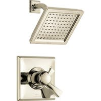 Delta T17251 Dryden 2.5 GPM Single Function Shower Head and Trim Package with Touch Clean Technology - N/A