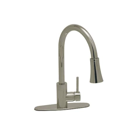 PROFLO PFXC7011 Pullout Spray Kitchen Faucet with Optional Cover Plate -