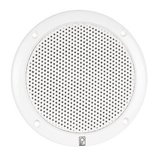 PolyPlanar 11224W Poly-Planar 6- Inch Round Marine Speaker-White