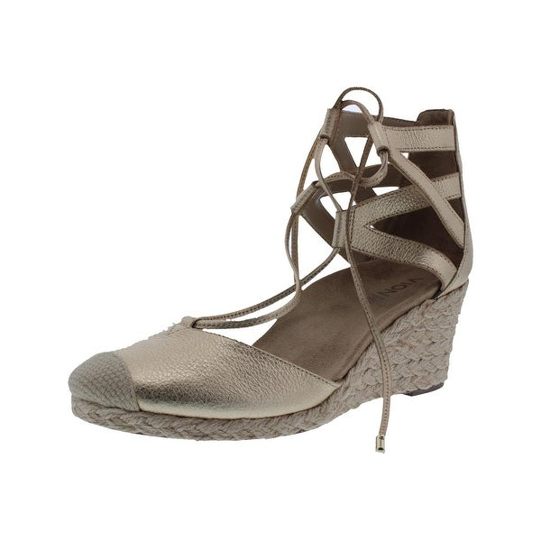93ccb759614 Shop Vionic Womens Aruba Calypso Wedge Sandals Textured Strappy - 8 ...