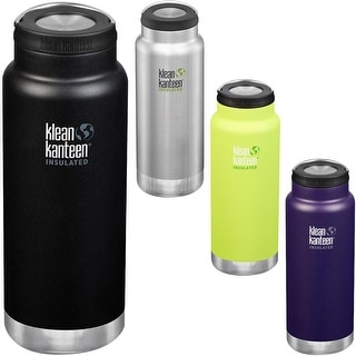 Link to Klean Kanteen 32 oz. TKWide Insulated Stainless Steel Bottle with Wide Loop Cap Similar Items in Glasses & Barware