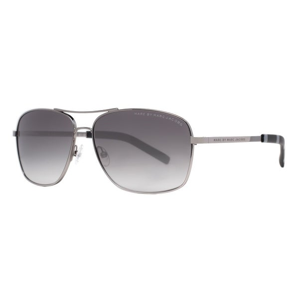 Marc by Marc Jacobs MMJ 342/S 6LB/JJ Ruthenium Grey Gradient Aviator Sunglasses - 59mm-14mm-135mm
