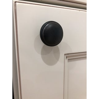 GlideRite 1.125-inch Oil-Rubbed Dark Bronze Round Ring Cabinet Knobs (Pack of 10)