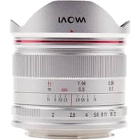 Venus Optics Laowa 7.5mm f/2 MFT Lens (Silver, Ultra-light Version) - Silver