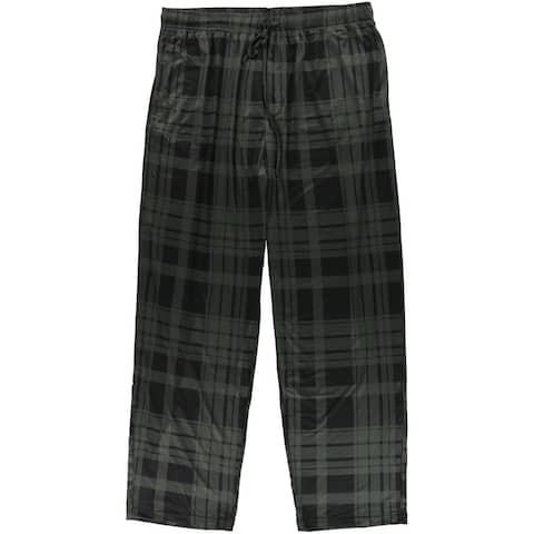 32 Degrees Mens Plaid Pajama Lounge Pants