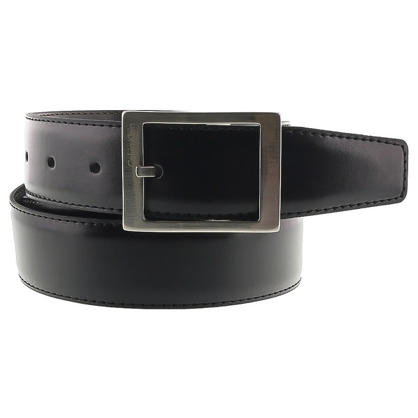 Calvin Klein Reversable NERO MORO Black/Brown Mens Belt - eu=110/125-us=41-