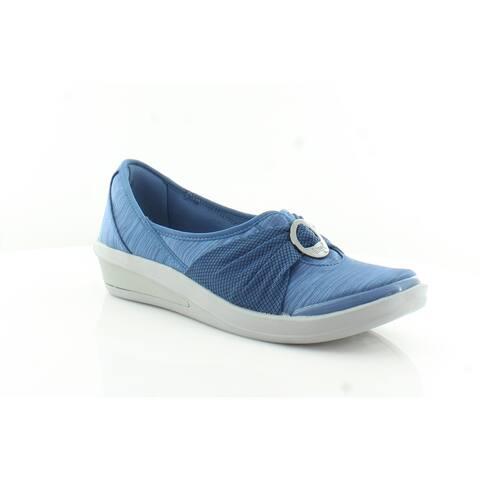 Bzees Minnie Women's FLATS Dark Blue