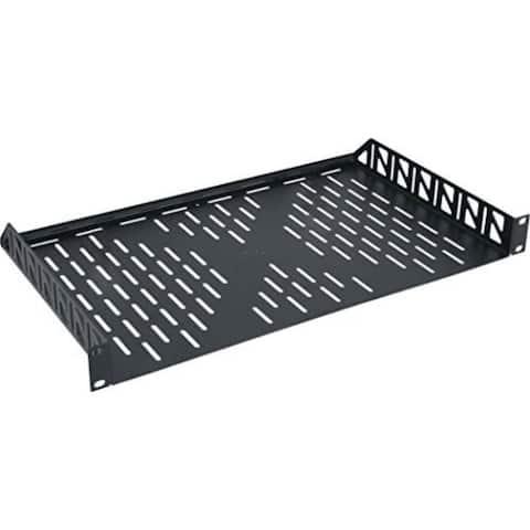 1 RU Vented Rack Shelf