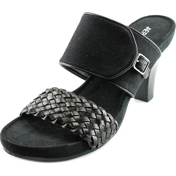 Aerosoles Hero Women Open Toe Canvas Sandals