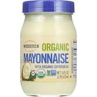 Woodstock Organic Mayonnaise - Case of 12 - 16 oz.