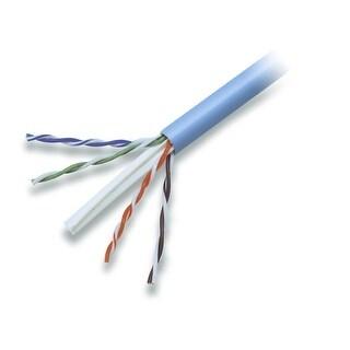BattleBorn 1000ft CAT6 UTP Bulk Ethernet Cable Roll, Pull Box Blue