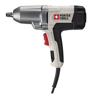 0.5 in. Porter Cable Impact Wrench with Hob Ring Anvil, 7.5 amp