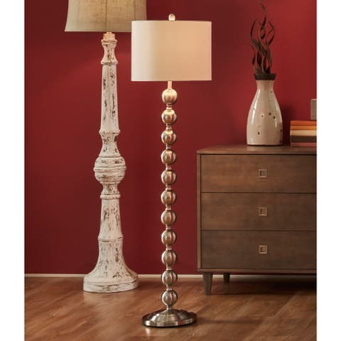 "59"" Stacked Ball Floor Lamp"