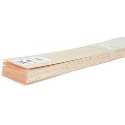 """Balsa Wood Sheet 36""""-3/8""""X3"""""""