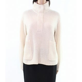 J. Crew Womens Small Mock-Neck Pullover Wool Sweater