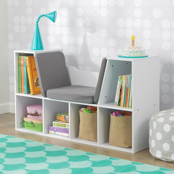 KidKraft White Bookcase with Reading Nook - N/A. Opens flyout.