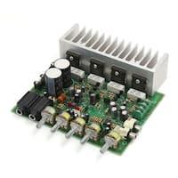 AC22-26V 500W LFE Subwoofer Audio Hi-Fi 4 Channel Stereo Power Amplifier Board