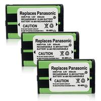 Replacement Panasonic KX-TG2344 NiMH Cordless Phone Battery (3 Pack)